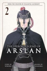 Kodansha Comics's Heroic Legend Of Arslan Soft Cover # 2