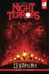Storm King Productions's John Carpenter's Night Terrors: 13 Horsemen Soft Cover # 1
