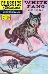 Gilberton Publications's Classics Illustrated #80: White Fang Issue # 10