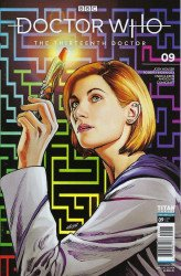 Titan Comics's Doctor Who: 13th Doctor Issue # 9sdcc