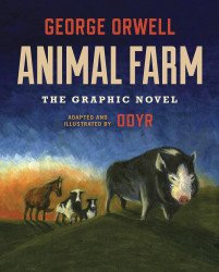 Houghton Mifflin Company's Animal Farm The Graphic Novel Hard Cover # 1