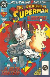 DC Comics's Adventures of Superman Issue # 507b