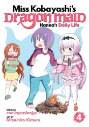 Seven Seas Entertainment's Miss Kobayashi's Dragon Maid: Kanna's Daily Life Soft Cover # 4