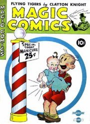 David McKay Publications's Magic Comics Issue # 38
