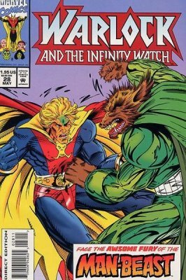 infinity watch. marvel comics\u0027s warlock and the infinity watch issue # 28