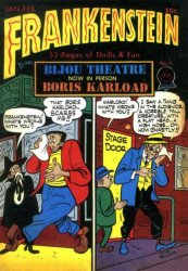 PS Artbooks's Roy Thomas Presents: Briefer Frankenstein Hard Cover # 5b