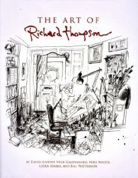 Andrews McMeel Publishing's Art of Richard Thompson Hard Cover # 1