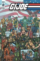IDW Publishing's G.I. Joe: A Real American Hero Issue # 275b