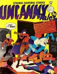 Alan Class & Company's Uncanny Tales Issue # 93