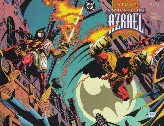 DC Comics's Batman: Sword of Azrael Issue # 1