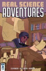 IDW Publishing's Real Science Adventures Nicodemus Job Issue # 3