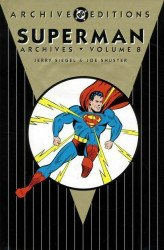 DC Comics's Superman Archives Hard Cover # 8