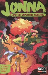 Oni Press's Jonna and the Unpossible Monsters Issue # 1c