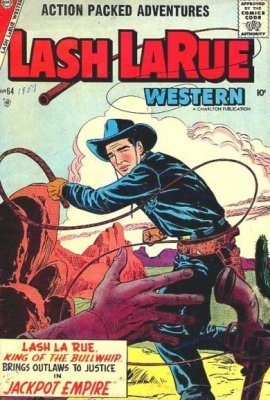 Lash Larue Western Issue 78 Charlton Comics