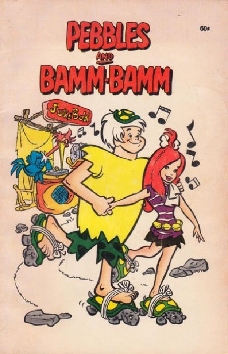 Image result for pebbles and bamm bamm xerox comic