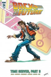 IDW Publishing's Back to the Future Issue # 24b