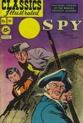 Gilberton Publications's Classics Illustrated #51: The Spy Issue # 1e