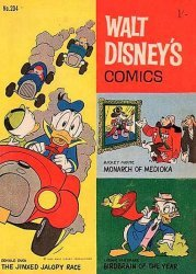 W.G.(Wogan)Publications's Walt Disney's Comics Issue # 204