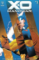 Valiant Entertainment's X-O Manowar Issue # 1d