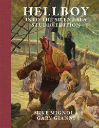 Flesk Publications's Hellboy: Into the Silent Sea Hard Cover # 1