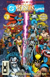 DC Comics's DC Versus Marvel Issue # 1c