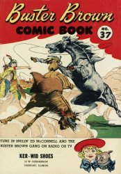 Buster Brown Shoes's Buster Brown Comics Issue # 37ker wid
