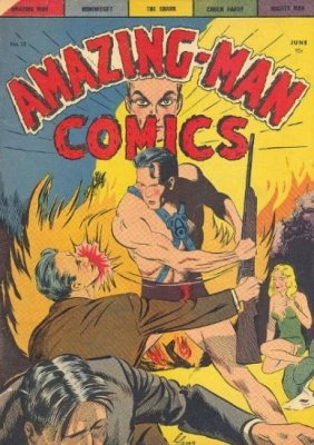 Image result for centaur publications amazing man