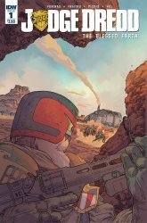 IDW Publishing's Judge Dredd: Blessed Earth Issue # 1
