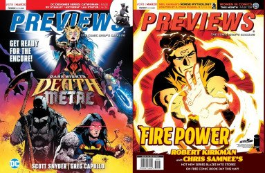 Diamond Comics Distribution's Previews Issue # 378