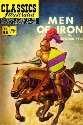 Gilberton Publications's Classics Illustrated #88: Men of Iron Issue # 1c