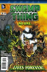 DC Comics's Swamp Thing Annual # 3