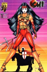 Crusade Comics's Shi: Blood of Saints Issue # 1b