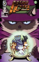 Action Lab Entertainment's Hero Cats Issue # 13