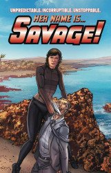 Paper Movies's Her Name Is Savage Soft Cover # 1