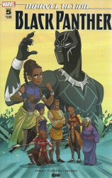 IDW Publishing's Marvel Action: Black Panther Issue # 5