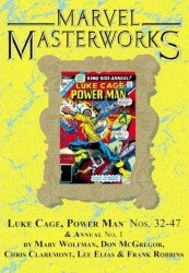 Marvel Comics's Marvel Masterworks: Luke Cage Hard Cover # 3b
