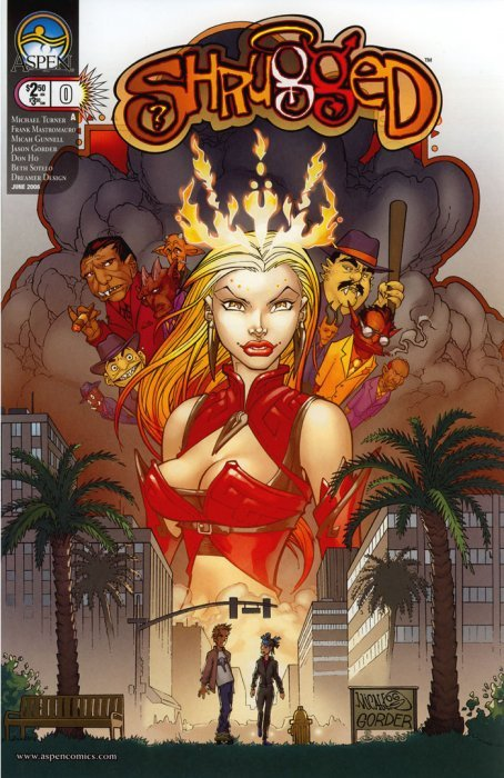 Shrugged #1b Aspen Collectibles Modern Age (1992-now)