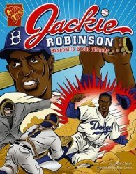 Capstone Press's Graphic Library: Jackie Robinson - Baseball's Great Pioneer Soft Cover # 1