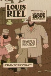 Drawn and Quarterly's Louis Riel Issue # 1
