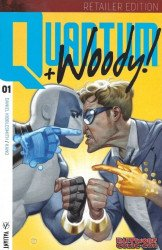 Valiant Entertainment's Quantum & Woody Issue # 1bcc