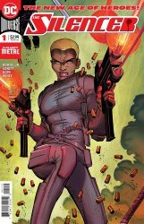 DC Comics's Silencer Issue # 1 - 2nd print