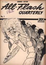 DC Comics's All-Flash (Quarterly) Issue Ashcan