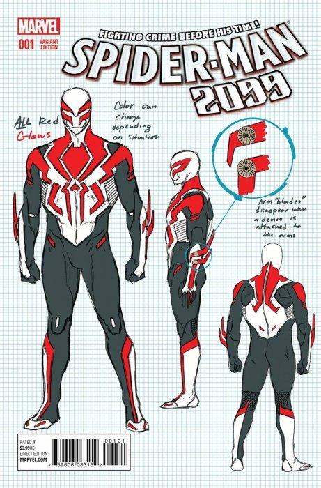 Marvel comicss spider man 2099 issue 1b