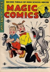 David McKay Publications's Magic Comics Issue # 54