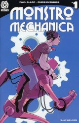 After-Shock Comics's Monstro Mechanica Issue # 1b