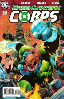 Green lantern corps comic cover - photo#28