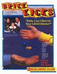 LEGO Systems's LEGO Builders Club: Brick Kicks Issue spring 1990
