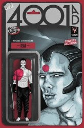 Valiant Entertainment's 4001 AD Issue # 1comiccollector