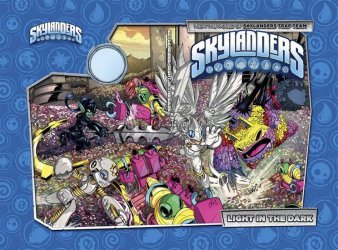 IDW Publishing's Skylanders: Light In The Dark Hard Cover # 1