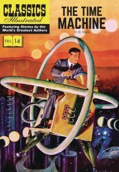 Classics Illustrated Comics's Classics Illustrated: The Time Machine Hard Cover # 1b